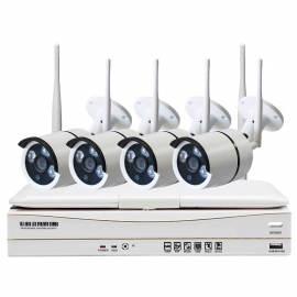 8CH WIFI NVR and camera